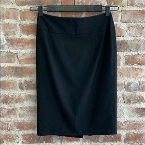 Target Mossimo Black Stretch Basic Pencil Skirt